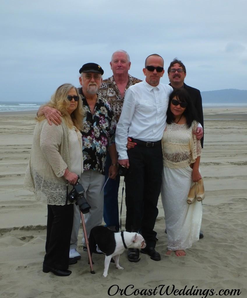 Oregon Coast Beach  Weddings with Sandlake Country Inn