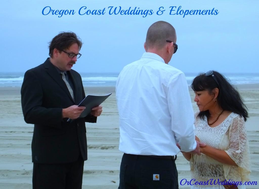 http://orcoastweddings.com oregon coast beach wedding