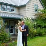Tom & Crystal in front of Sandlake Country Inn