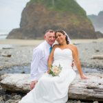Wedding at 'Secret Beach'