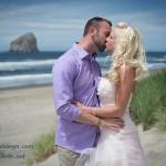 Shawn & Michelle, Oregon coast wedding in Pacific City