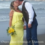 Jon & Lisa, married in Pacific City at Bob Straub State Park