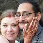 Bibhav & Erin created a ceremony fusing East & West