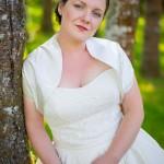 Beautiful bride Odie at Sandlake Country Inn