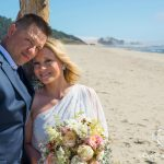 Intimate elopement at McPhillips Beach
