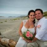 Aric & Jara's Oregon Coast Beach Wedding
