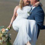 Wedding elopement at McPhillips Beach