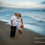 The Beautiful Wedding Couple in Pacific City