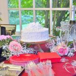 Wedding Cake, Champagne Flutes in All-Inclusive Package