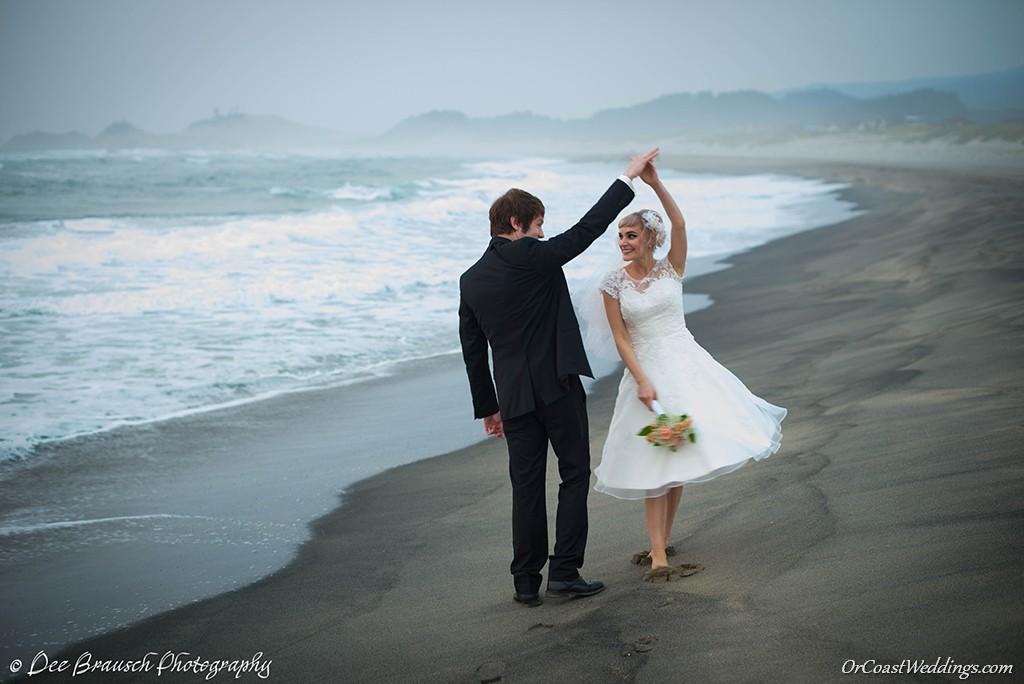 Vintage Inspired Oregon Coast Wedding