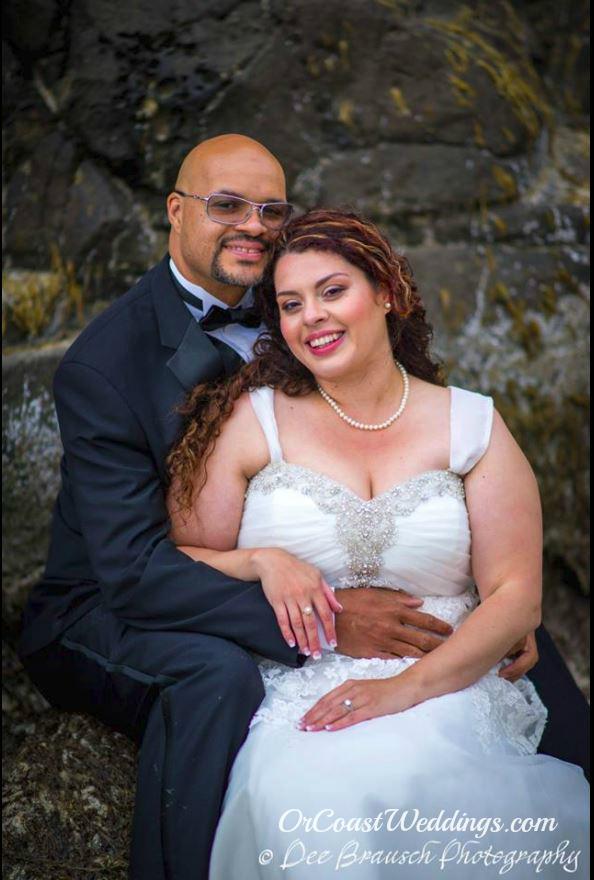 bride groom oregon elopement
