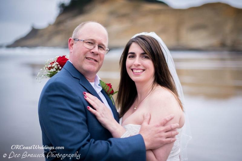 Wedding Elopement in Pacific City
