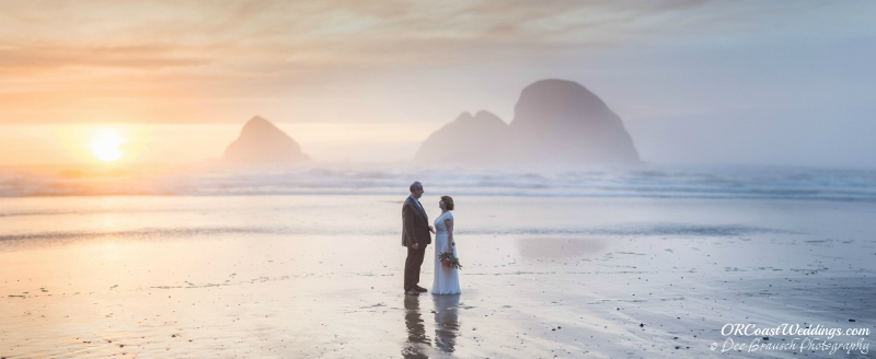Wedding Elopement for Micheal and Joann at Tunnel Beach in Oceanside