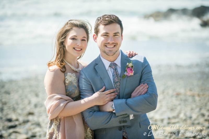 An elopement at Secret Beach