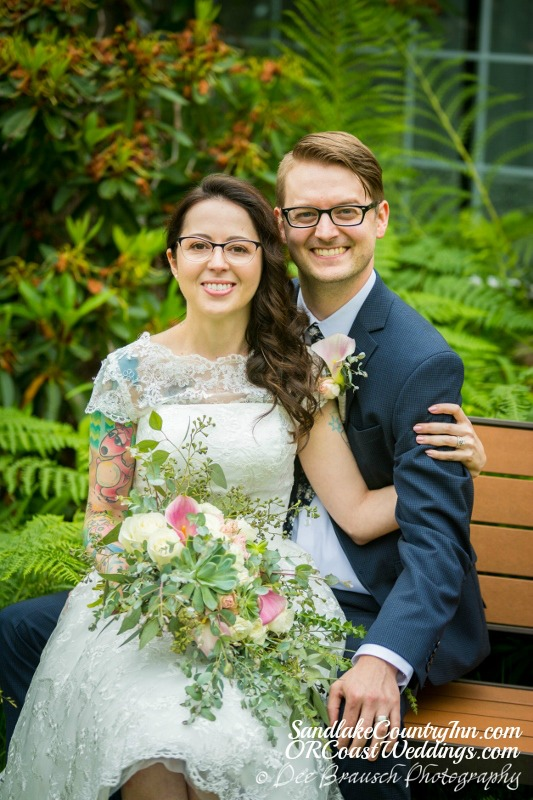 A wedding at Sandlake Country Inn
