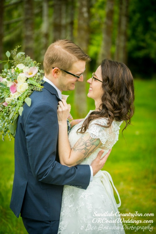 Happy Couple at Sandlake Country Inn