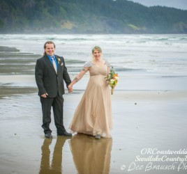 Oregon Coast Beach Elopement