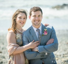 David & Katie's Elopement at Secret Beach